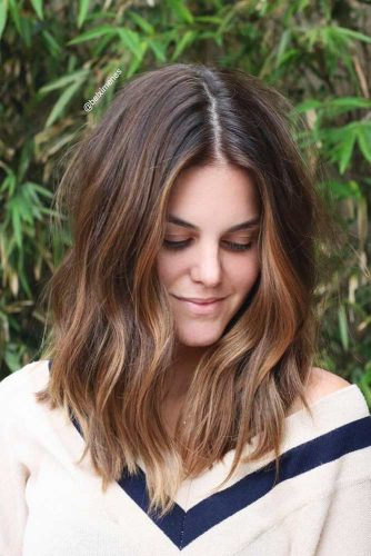 Wavy Long Bob Hair Ideas Picture 2