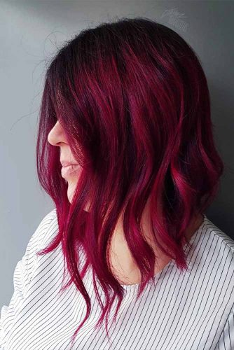 Inverted Long bob Haircut Picture 2