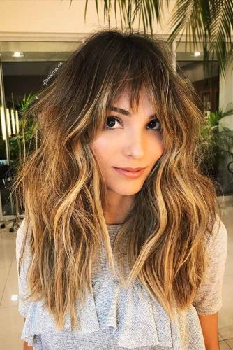 Layered Hairstyles with Bangs Picture 1
