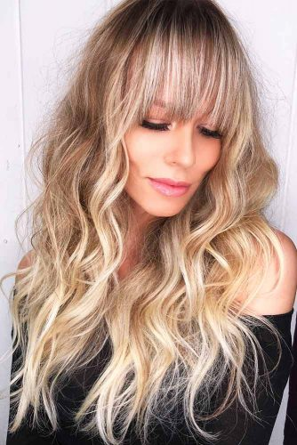 Layered Hairstyles with Bangs Picture 3