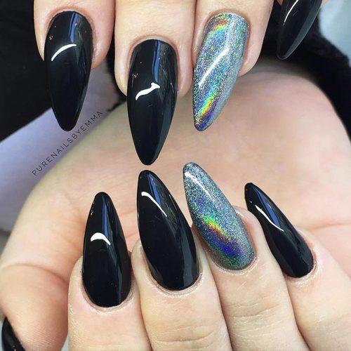 Beautiful Almond Shape Long Nails 4