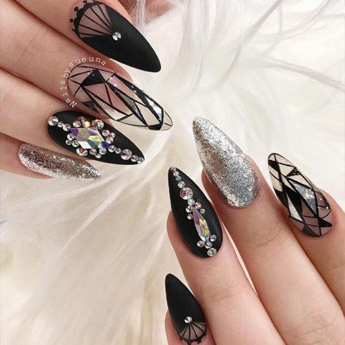 Beautiful Almond Shape Long Nails 6