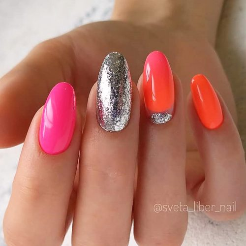 Stunning Oval Shape Long Nails picture 6