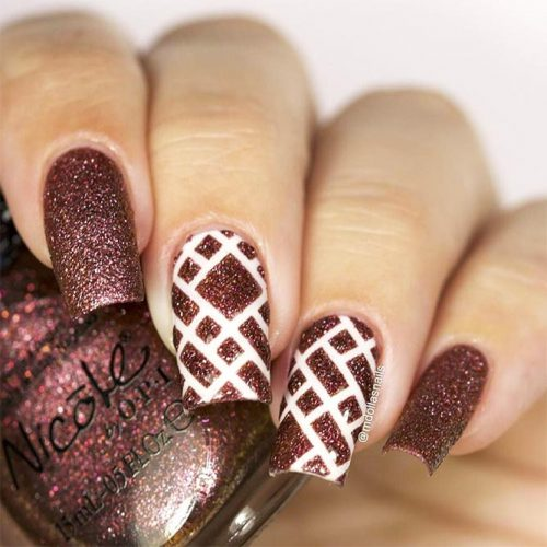 Square Shape Long Nails for a Classy Look Picture 4