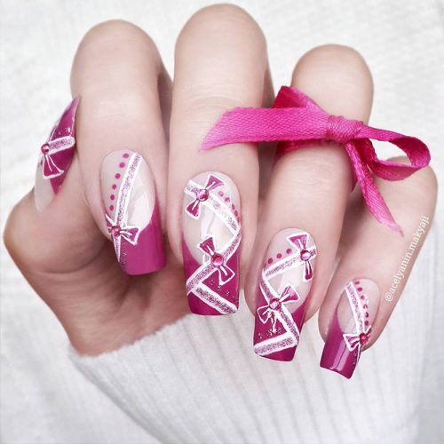 Square Shape Long Nails for a Classy Look Picture 5