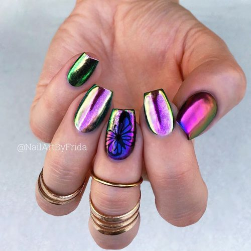 Metallic Nail Colors Picture 4