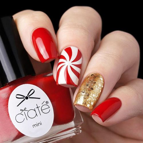 Red Nail Colors for a Trendy Look Picture 4