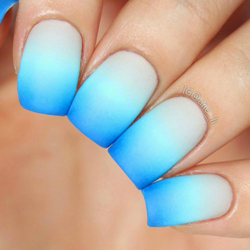 From Light to Dark Colors Ombre Design Picture 4