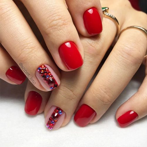 Red Nail Colors for Trendy Look Picture 3