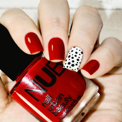 Hot Red Nail Designs for Unforgettable Look Picture 1