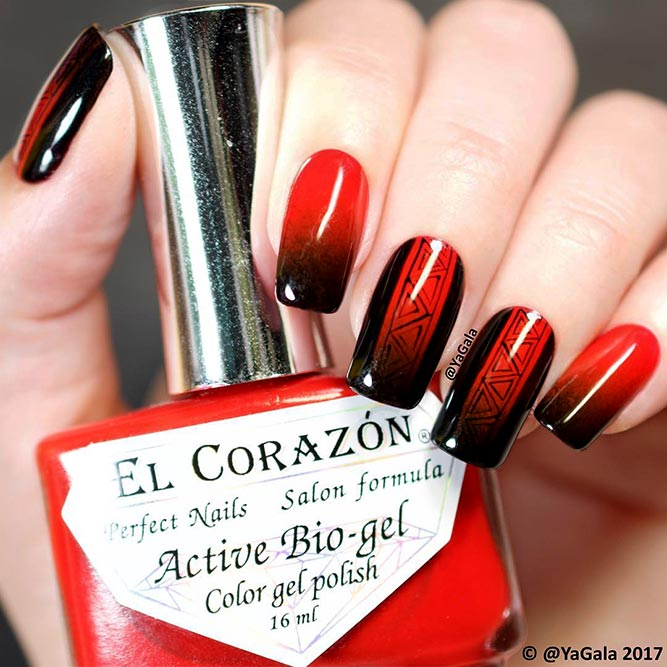 Hot Red Nail Designs for Unforgettable Look Picture 6