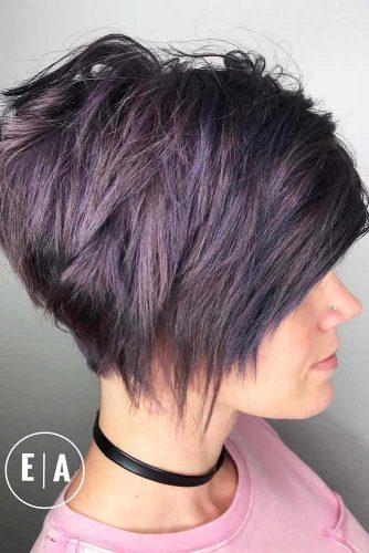 Short haircuts for thickhair