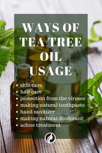 Some Ways of Tea Tree Oil Usage