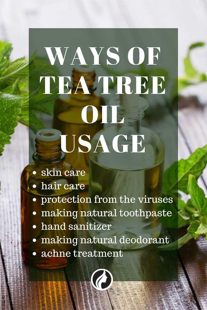 Some Ways of Tea Tree Oil Usage