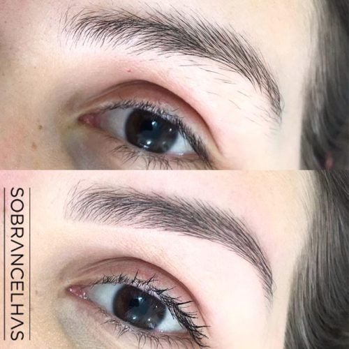 Threading Eyebrows Technique picture 2