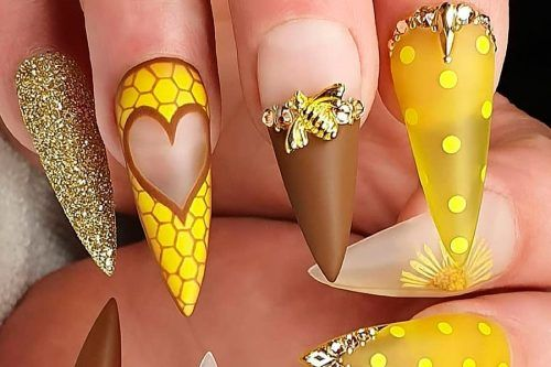 Ideas With Long Nails For Different Shapes