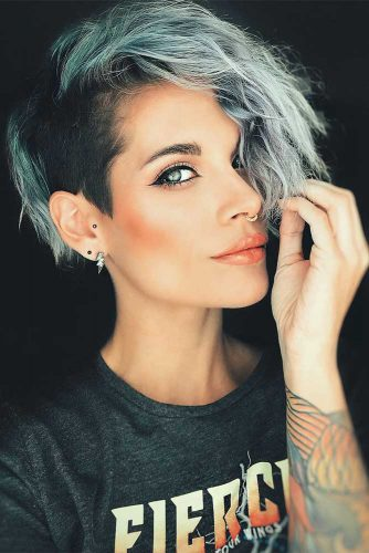 Undercut Hairstyles for All Hair Length Picture 4