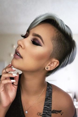 Undercut Hairstyles for All Hair Length Picture 2