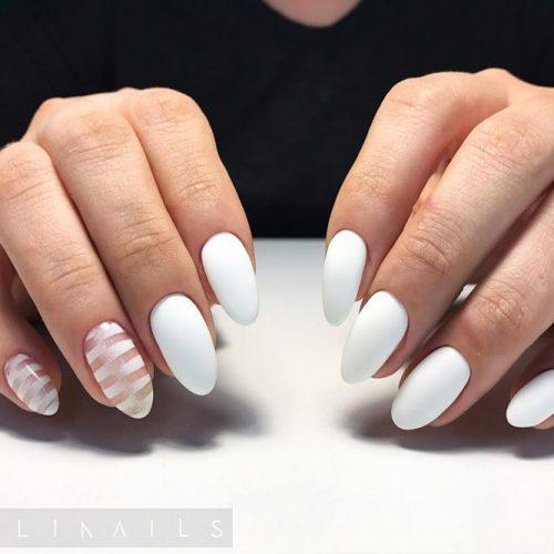 Matte White Nail Designs Picture 2