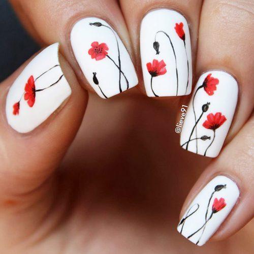 Matte White Nail Designs Picture 4