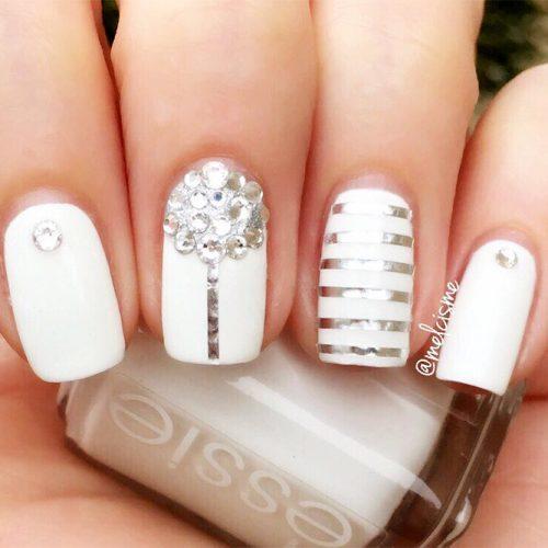 Matte White Nail Designs Picture 5