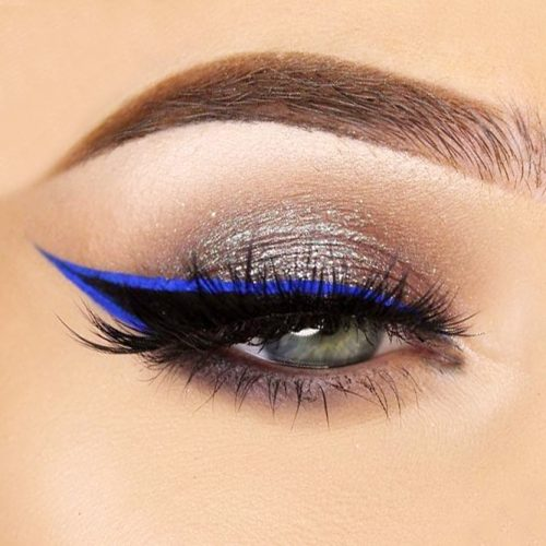 Colorful Winged Eyeliner Ideas picture 3