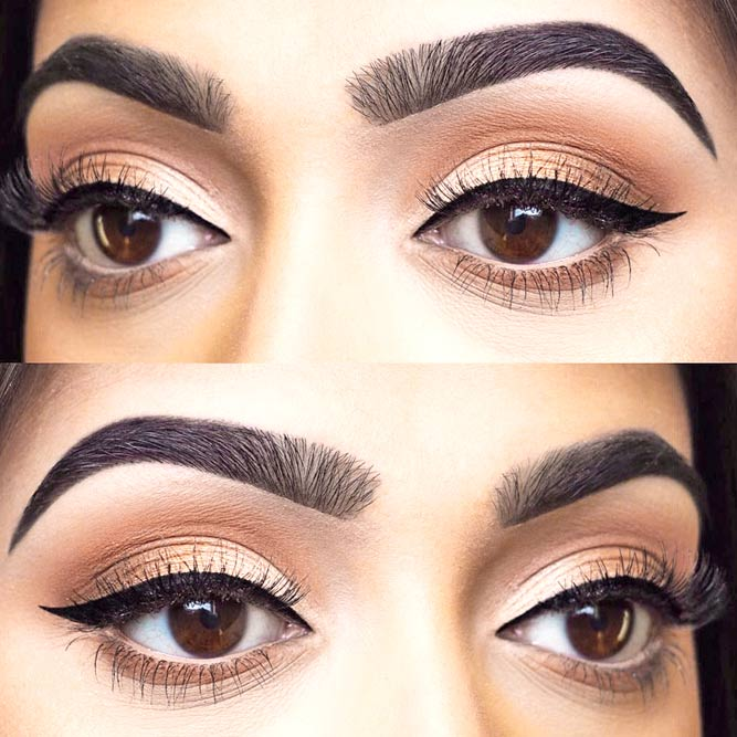 Winged Eyeliner Style for Round Eye Shape picture 2
