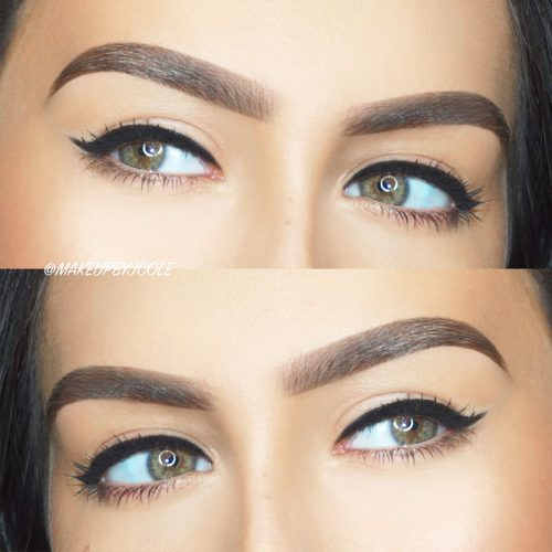 Winged Eyeliner for Hooded Eyes picture 3