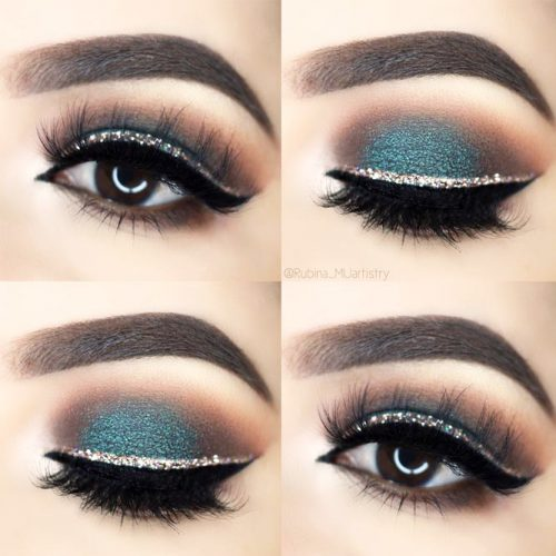 Winged Eyeliner for Hooded Eyes picture 1