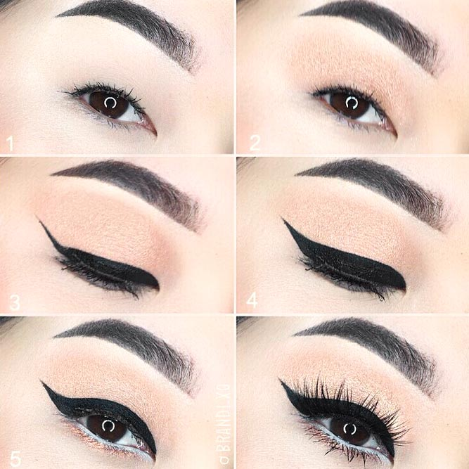 Eyeliner Style for Monolid Eye Shape picture 2