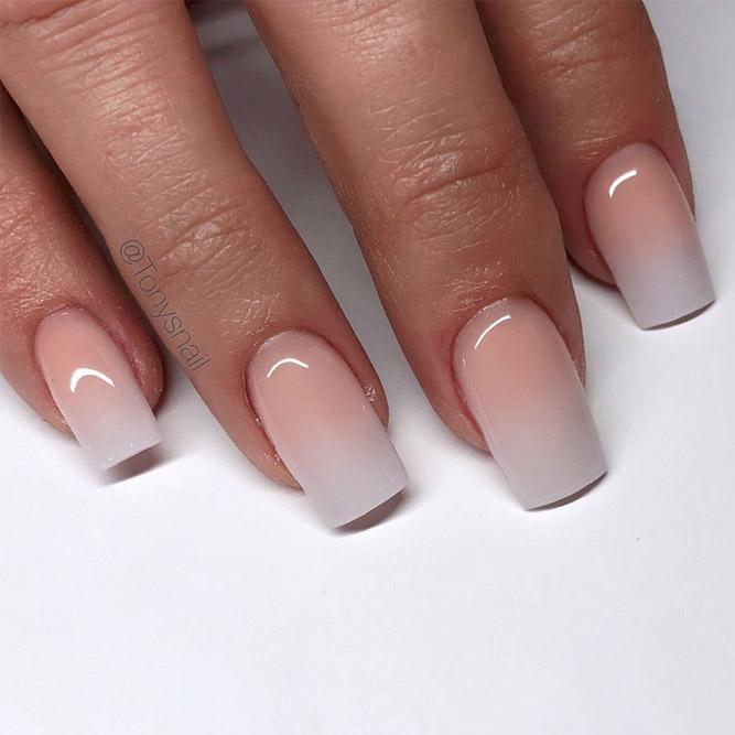 Acrylic Ombre Nail Design