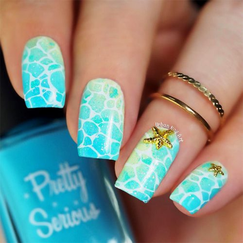 Square Shape Acrylic Nails Picture 5