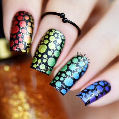 Square Shape Acrylic Nails Picture 2