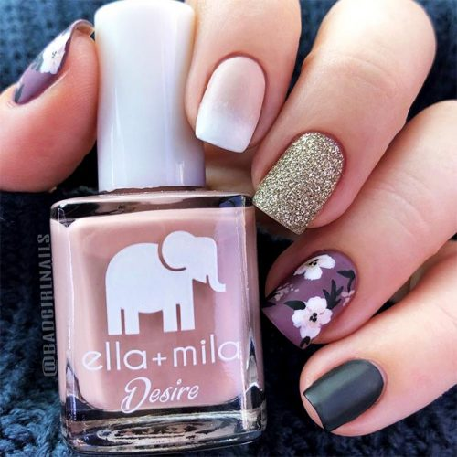 Square Shape Acrylic Nails Picture 6