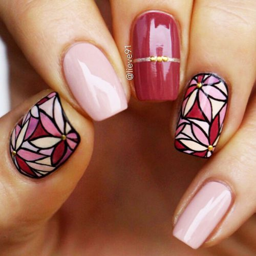 Square Shape Acrylic Nails Picture 3