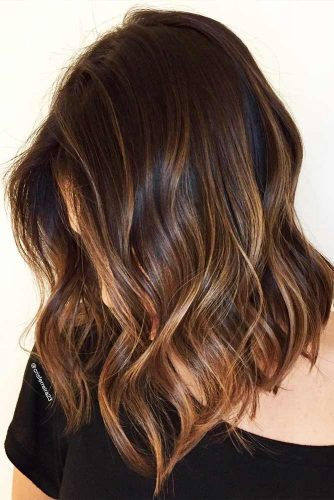 Medium Hairstyles with Balayage Picture 4