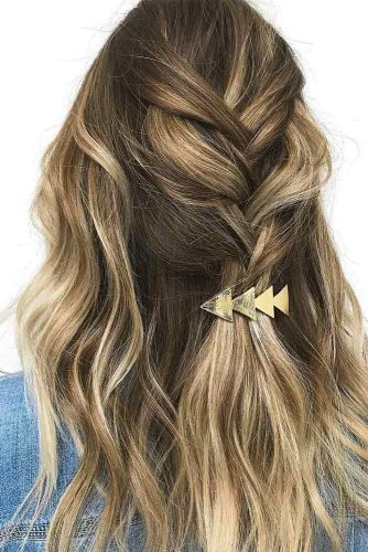 Long Braided Hairstyle With Balayage #longhairbalayage