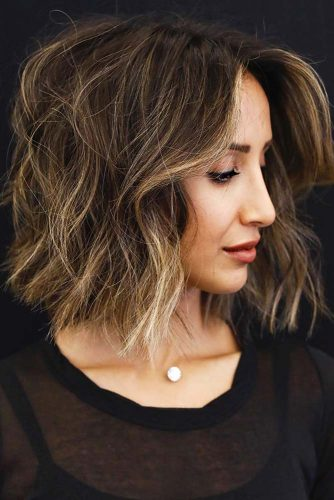 Balayage Hair Highlighting for Short Hair Picture 2