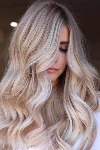 How Long Does A Balayage Last? #wavyhairstyles #longhairstyles