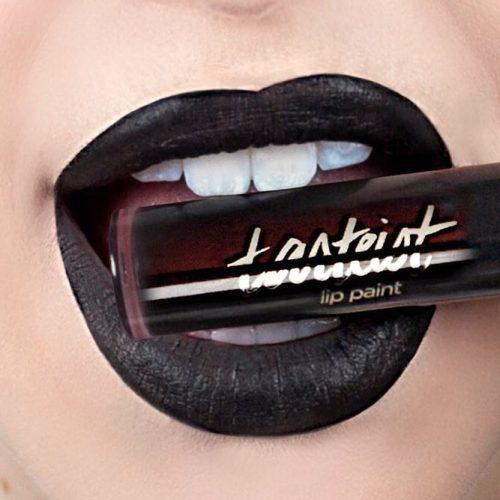 Black Matte Lipstick picture 3