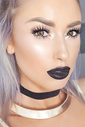 Soft Eyes with Bold Lips Makeup Looks picture 2