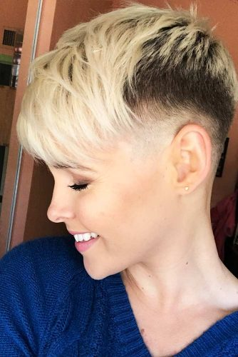 Fade Haircut with Pixie Hairstyle Picture 5