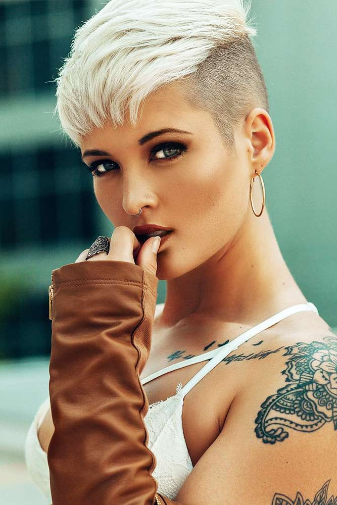 Fade Haircut with Pixie Hairstyle Picture 6