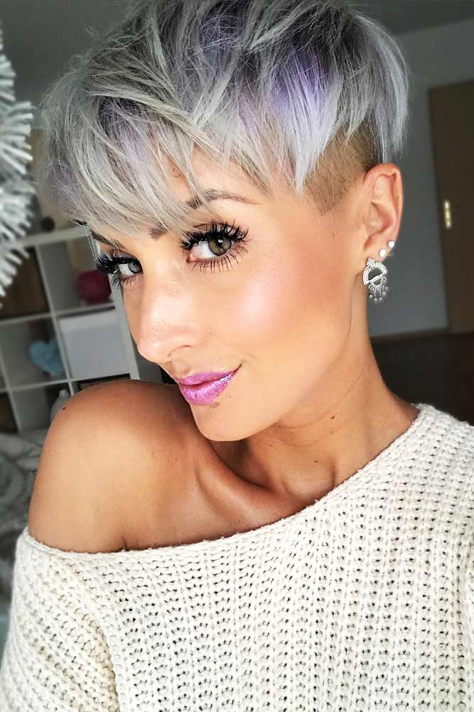 Fade Haircut with Pixie Hairstyle Picture 3