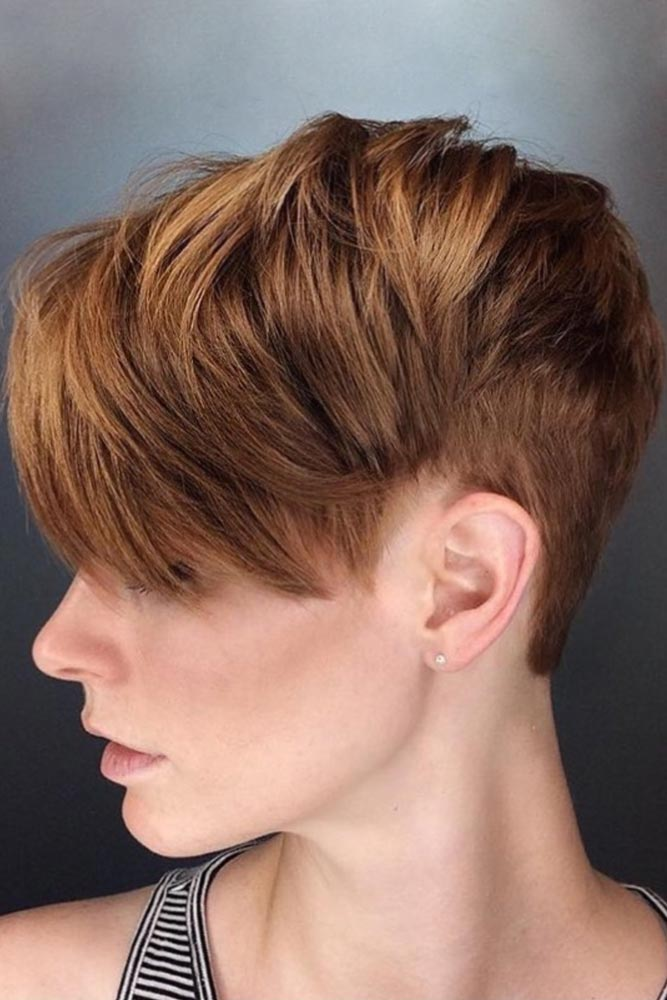 Amazing Fade Haircut With Pixie Hairstyle #fadehaircutwomen #fadehaircutwomennaturalhair #fadehaircutwomendesigns #fadehaircutwomenundercut