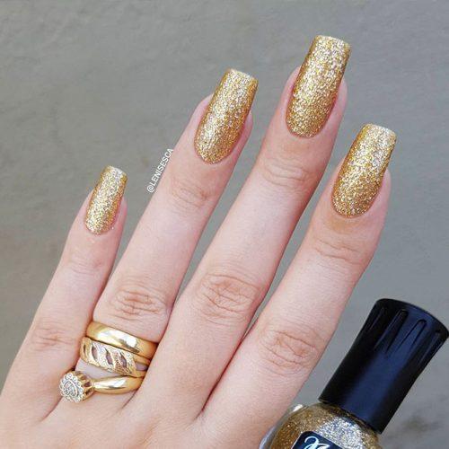 Square Shape Gel Nails Picture 3