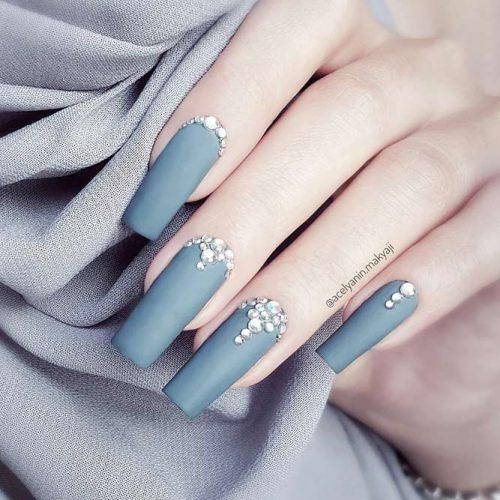 Square Shape Gel Nails Picture 6