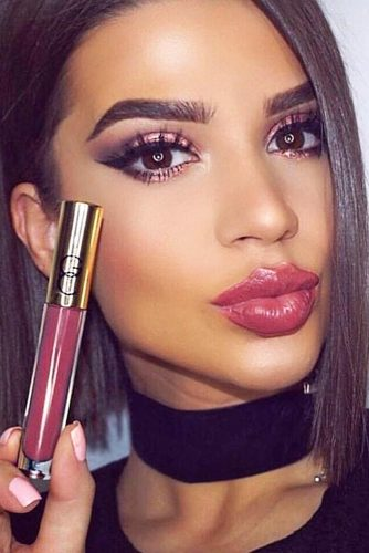 Perfect Makeup Ideas With Lip Gloss picture 4