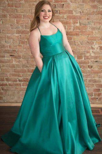 Teal A-line Prom Dress Design #tealdress