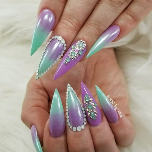 Colorful Ombre Designs for Bright Look Picture 4